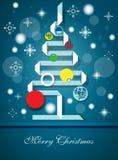 圣诞节向量 免版税库存照片