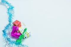 圣诞节和一个欢乐新年 免版税库存照片