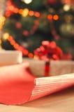 圣诞节和假日 存在 免版税库存照片