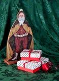 圣诞节和圣徒Nich 免版税库存照片