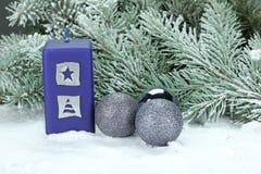 圣诞节和圣诞老人 免版税库存图片