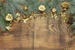 圣诞节和圣诞老人 免版税库存照片