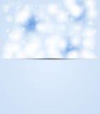 圣诞节和新年天空下雪 免版税库存图片