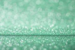 圣诞节和新年度背景 明亮的圣诞灯 fest 免版税库存照片