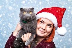 圣诞节和新年的精神 一个假日和几天的概念 免版税库存图片