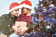 圣诞节和新年的精神 一个假日和几天的概念 库存图片