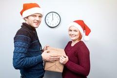 圣诞节和新年的精神 一个假日和几天的概念 免版税库存照片