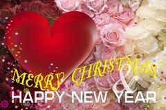 圣诞节和新年卡片。 图库摄影