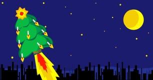 圣诞节和新年卡片 库存照片
