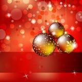 圣诞节和新年度背景 免版税库存图片