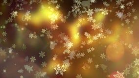 圣诞节和新年度背景 向量例证