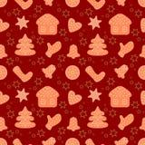 圣诞节和新年快乐装饰标志概念 免版税库存图片