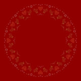 圣诞节和新年快乐装饰标志概念 图库摄影
