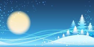 圣诞节和新年欢乐蓝色题材 免版税库存照片