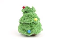 圣诞节和新年玩具树 免版税图库摄影