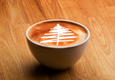圣诞节咖啡美食 免版税库存图片
