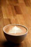 圣诞节咖啡美食 库存照片