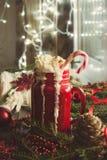 圣诞节咖啡 图库摄影