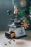 圣诞节咖啡 库存照片