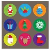 圣诞节商标/象,横幅 库存照片