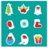 圣诞节商标/象,横幅 库存图片