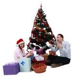 圣诞节喜悦 免版税图库摄影