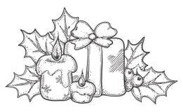 圣诞节图标 库存照片