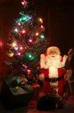 圣诞节图象点燃更多我的投资组合结构树 免版税图库摄影