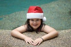 圣诞节圣诞老人夏天 免版税库存图片
