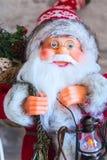圣诞节圣诞老人特写镜头 免版税库存图片