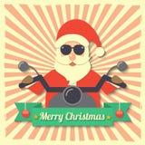 圣诞节圣诞老人背景 免版税库存图片