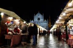 圣诞节在佛罗伦萨 免版税库存图片