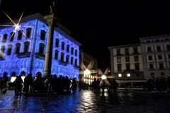 圣诞节在佛罗伦萨 免版税库存照片