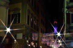 圣诞节在佛罗伦萨IV 库存照片