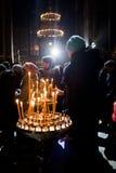 圣诞节在圣Volodymyr的大教堂里 基辅 图库摄影
