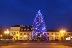 圣诞节在塔尔诺布热格 库存图片