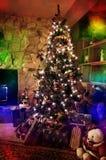 圣诞节在家 免版税库存图片