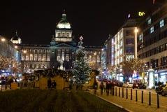 圣诞节在布拉格 图库摄影