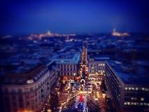 圣诞节在布达佩斯 免版税库存图片