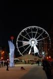 圣诞节在布鲁塞尔 库存照片
