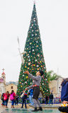 圣诞节在拿撒勒 免版税库存照片