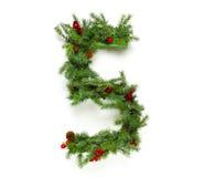 圣诞节在汇集上写字 免版税库存图片