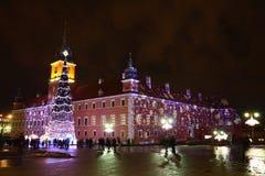 圣诞节在波兰 免版税库存照片