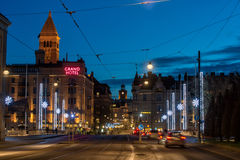 圣诞节在瑞典 库存照片