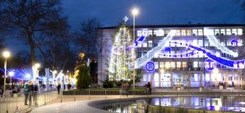 圣诞节在瓦尔纳 库存照片