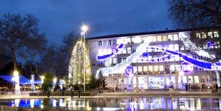 圣诞节在瓦尔纳 图库摄影
