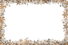 圣诞节在白色的背景星 库存图片