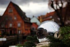 圣诞节在科尔马 免版税库存照片