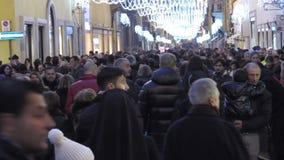 圣诞节在罗马 影视素材