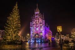 圣诞节在荷兰 免版税库存照片